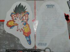 DRAGON BALL DRAGONBALL Z LETTER SHEET PAPEL DE CARTA 1 HOJA ILUSTRADA