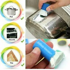 Hot Sale Stainless Steel Rust Remover Detergent Stick Wash Clean Brush Kitchen