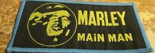 BOB MARLEY PATCH  COLLECTABLE VINTAGE WOVEN  ENGLISH PICTURE