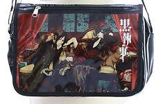 B-141 Black Butler Ciel Sebastian Lack PVC Umhänge-Tasche Bag Anime Manga Japan