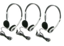Package Deal 3X Over The Head 3.5mm Headphones Earphones For CD/MP3/Mobile Phone