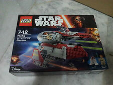 LEGO Star Wars Obi-Wan's Jedi Interceptor 75135 New MISB