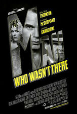 THE MAN WHO WASN'T THERE (2001) ORIGINAL MOVIE POSTER BLACK VERSION ROLLED
