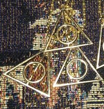 Custom Lot 3 Deathly Hallows Necklaces For Harry Potter Party Favors Goodie Bag