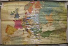 Schulwandkarte Wandkarte Schulkarte Europe Polen-Litauen Europa im 17.Jh 189x124