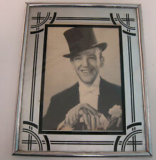 Nice Vintage Art Deco Themed Picture Frame Fred Astaire 8 X 10 5 X 7