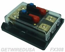 DUAL BATTERY ISOLATOR 12-VOLT ON & OFF SWITCH DISCONNECT CUT OFF MANUAL ON