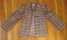 vintage 1960's Carlos Urruela Indian JACKET Guatemala hippie boho retro coat top