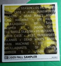 ANTI 2009 FALL PROMO SAMPLER NEKO CASE TURNER SWELL SEASON 12 SONGS CD NEW