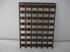 PART 11216 NEW LARGE  DARK BROWN 1 x 12 x 6 CASTLE GATE/DOOR (PORTCULLIS)