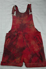 dungarees  bib and brace tie dye hippy festival hippie
