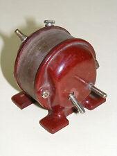 más pequeño antiguo Transformador, Pequeño transformador, rojo Baquelita