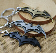 New Cool BATMAN Dark Knight Zinc Alloy Bronze Pewter Black Metal Ring Key Chain