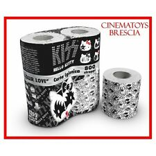 KISS GENE SIMMONS HELLO KITTY Real TOILET PAPER LIMITED COLLECTOR or Actual Use