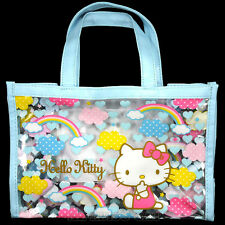 HELLO KITTY Vinyl Tote Bag JAPAN