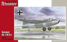 Special Hobby 1:72 WWII Heinkel He 178 V-1 World First Jet Aircraft #SH72321