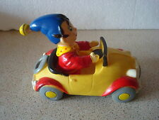 VINTAGE RUBBER NODDY DRIVING IN HIS CAR