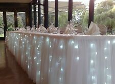 40 Led Fata Natale Haloween WEDDING LUCI 4M COOL WHITE & A BATTERIA