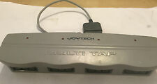 JOYTECH MULTI TAP SONY PLAYSTATION 1 PS1 CONTROLLER & MEMORY CARD 4-WAY ADAPTER