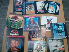 13 LASER DISC SAMMLUNG TopTitel,HEAT,SCREAM,STAR WARS,BRAVEHEART usw...