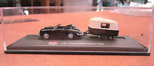 MODEL POWER diecast PORSCHE 356B with CARAVAN #19692 1:87 HO New in box