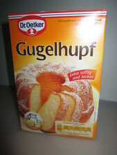 Dr Oetker Gugelhupf Cake Baking Mix Gugelhupf Backmischung real from german