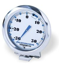 Refrigerator Freezer Thermometer Stainless Steel New