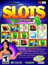 WMS Slots Jade Monkey (PC 2014) 15 SLOT GAMES EXCELLENT CONDITION SHIPS NEXT DAY