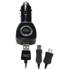 Itec Electronics Compact Blackberry Phone Car Charger Black New