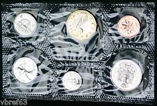 1988 Canada Prooflike PL set - 6 perfect coins in org packaging and certificate