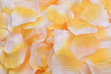 2000/1000pcs Multi Colors Silk Flower Rose Artificial Petals Wedding Decorations