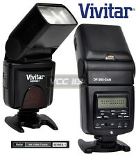 VIVITAR GN42 Speedlite Flash TTL LCD for Canon EOS T3I 600D T3 1100D 1000D