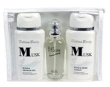 Bettina Barty Musk Set Parfüm Lotion Duschgel 350ml Travel Set