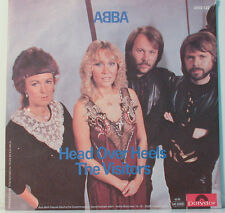 "[F228] 7""SINGLES ABBA HEAD OVER HEELS THE VISITORS"