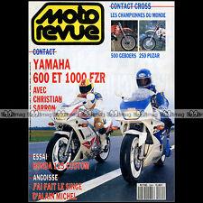 MOTO REVUE N°2964 HONDA CM 125 YAMAHA FZR 600 1000 SUZUKI RM 250 RICKY JOHNSON
