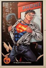 CLARK KENT / SUPERMAN PRINT Central Texas Expo Exclusive by Artists Vo Nguyen DC