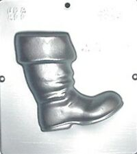 Santa's Boot Facing Right Chocolate Candy Clear Plastic Mold Christmas 2026 NEW