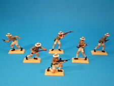 BRITAINS DSG * WWII BRITISH SCORPIONS TROOPS * PLASTIC TOY SOLDIERS #2846