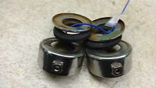 1974 yamaha rd60 Y333-4~ chrome rubber fork trims rings