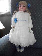 Antique German Bisque Doll- Kestner -154-19 inches tall - very sweet girl