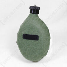 German Army FELDFLASK WATER BOTTLE WITH FELT COVER - WW2 Repro Canteen Flask