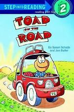 Toad on the Road (Step-Into-Reading, Step 2) Schade, Susan, Buller, Jon Paperba