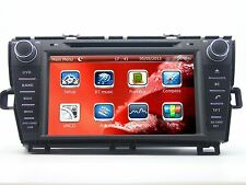 """8"""" Car DVD Player Touch Screen GPS Navigation radio for TOYOTA PRIUS LHD + Map"""
