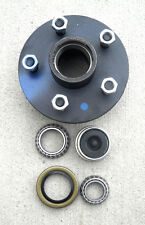 1- 5x4.5 Idler Hub with 3500# Bearing Kit Replace Trailer Axle fits Dexter ALKO
