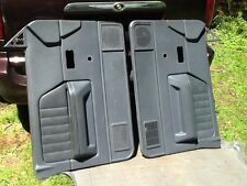 1987-1996 DODGE DAKOTA  Driver Passenger Door Panel Set Panels GREY s2425