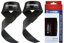 Harbinger Padded Cotton Lifting Straps! 2 New In Box! Free Shipping!