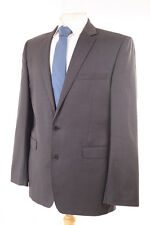 "CERRUTI ""PRESTIGE"" 1881 MEN'S PLAIN DARK GREY SUIT 40R"