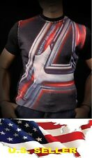 1/6 men / women clothes fashion Graphic Tee Avengers Causal for Hot toys