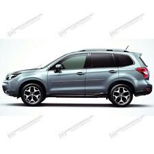 For: SUBARU FORESTER; PAINTED Body Side Moldings Mouldings Trim 2014-2017