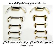 Guard Ring For Loose Rings,Stronghold Ring Size Adjuster all Sizes=10 Pcs Total